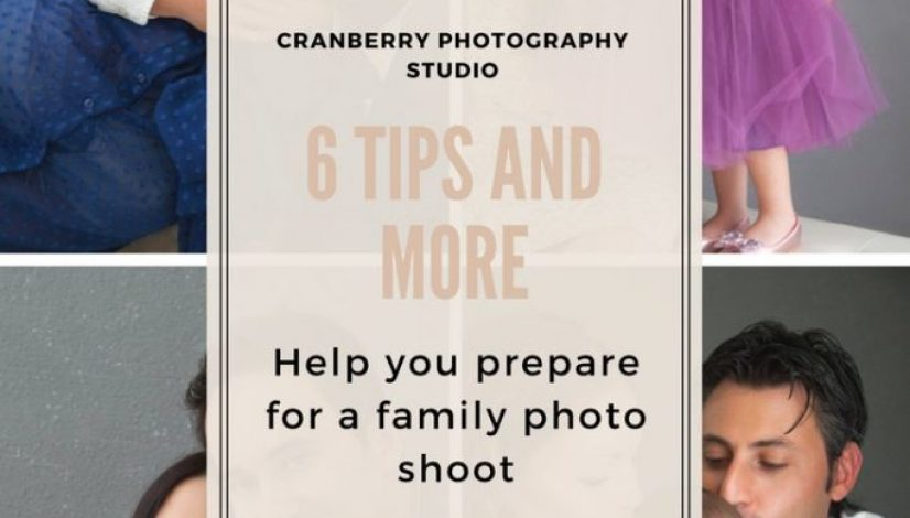 How to prepare for a family photo shoot?