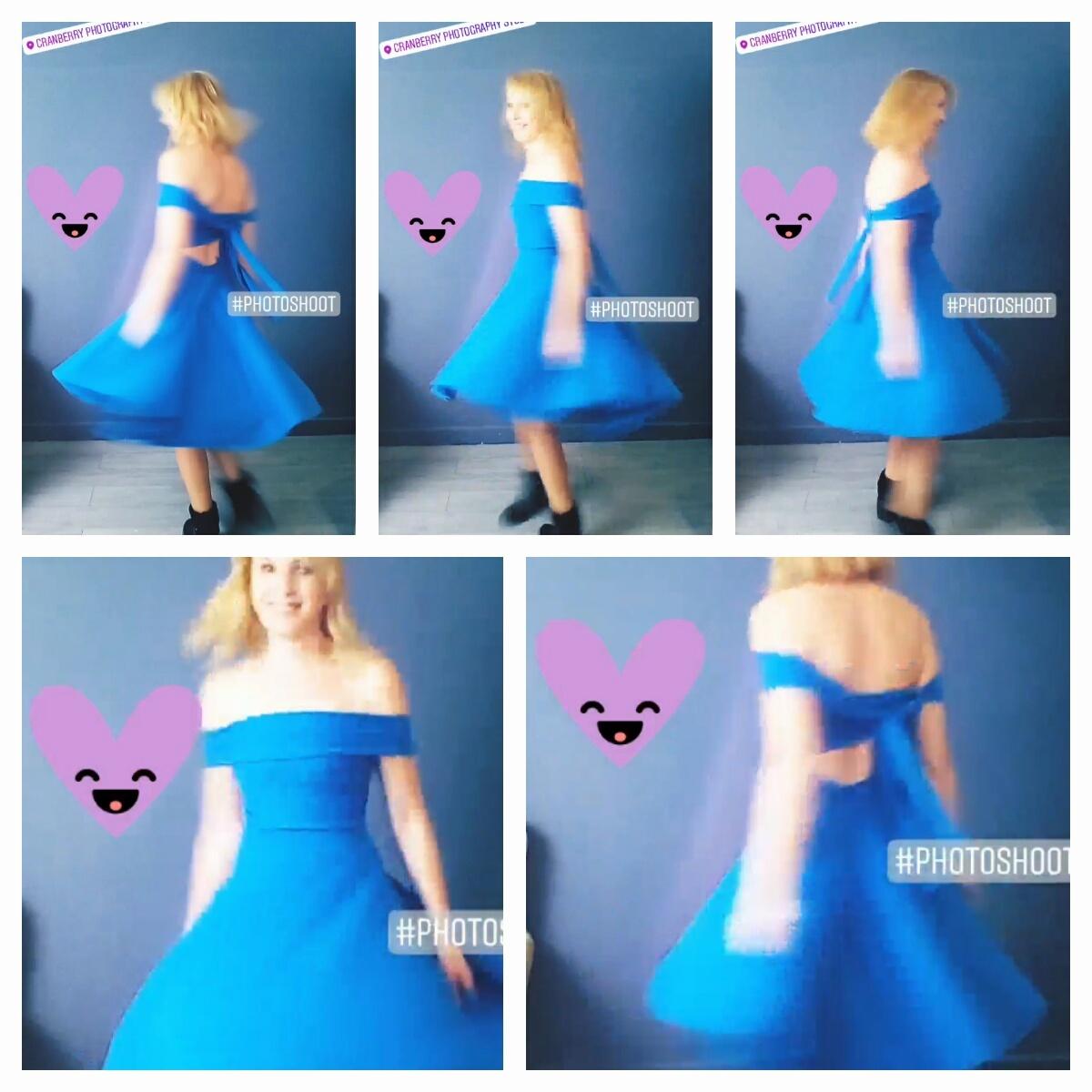 Behind the Scenes  MOLDIV-01 Dressmaking, adding gorgeous dresses to studio wardrobe