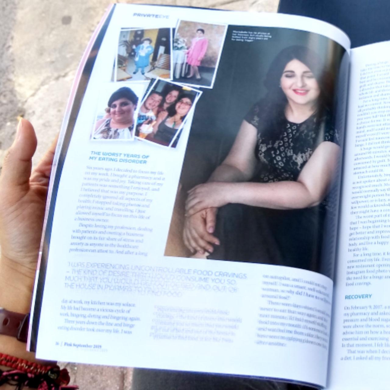 Publication & Awards  InShot_20190929_173812476-1280x1280 Portraits published in Pink Magazine, featuring Marisabelle Bonnici